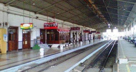 Peron Stasiun Bogor saat ini